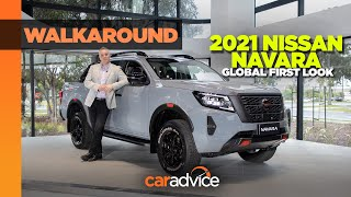 2021 Nissan Navara PRO 4X Launch | First global look at new Nissan pickup