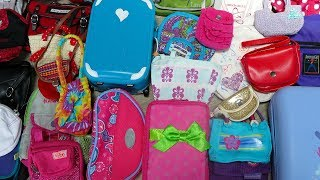 Packing for American Girl Doll!