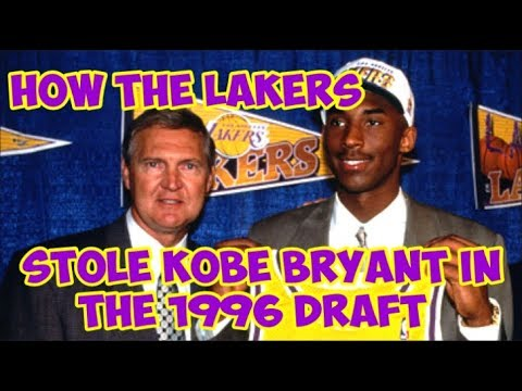 How the NBA got 13 teams to NOT DRAFT Kobe Bryant in 1996
