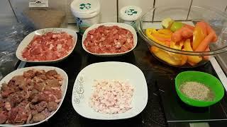 Рецепт сырого натурального питания для собак 6.