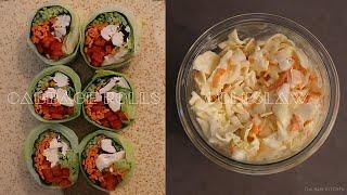 고깔 양배추 레시피 | 닭가슴살 양배추롤 & K…