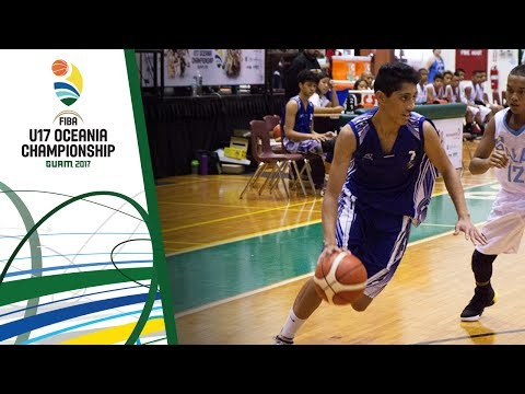 Samoa v New Caledonia - Full Game - FIBA U17 Oceania Championship 2017