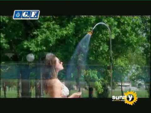 Elite's Solar Shower Advert.... I see the girl but where is the shower