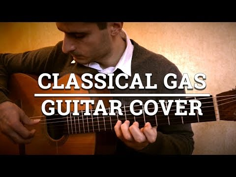 Classical Gas - Mason Williams (Cover) - Played on Classical Guitar