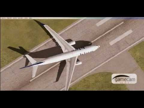 landing with an a330 in TKPK