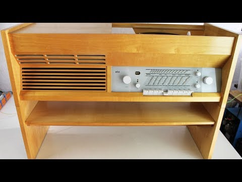 Braun 1957  Music Console Repair