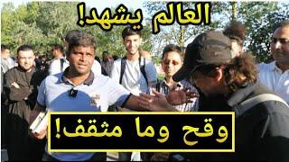 وقح وما مثقف/منصور مع نصراني - ركن المتحدثين Speaker's corner