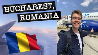 FIRST IMPRESSIONS OF ROMANIA Arriving in Bucharest