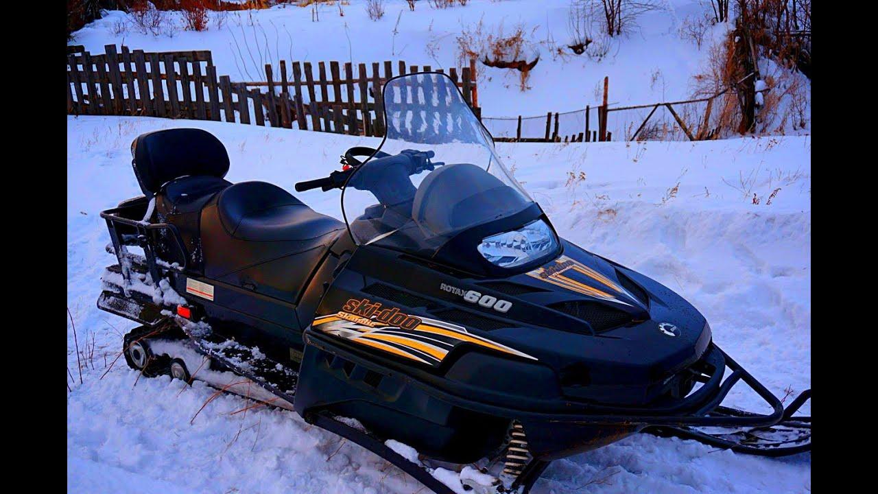 Obzor Snegohoda Ski Doo Skandic Suv Sdi Bombardier Youtube