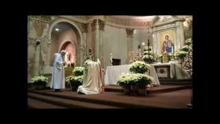 Eucharistic Adoration at OLS Catholic Church, Toronto