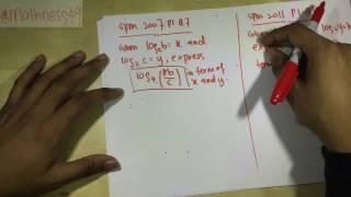 F4 - Log (Logarithms / Logaritma)