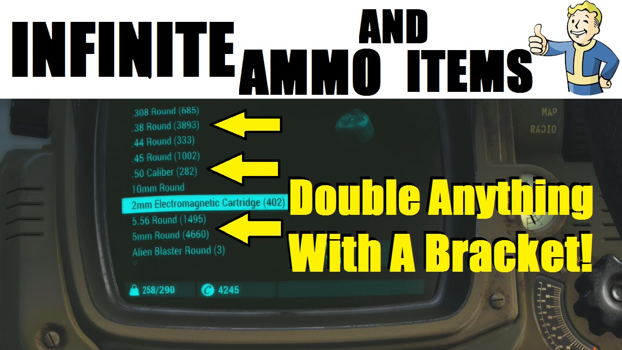 fallout 4 how to make ammo