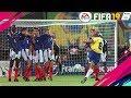 COMO BATER FALTAS FORTES DE PERTO E DE LONGE DA AREA NO FIFA 19