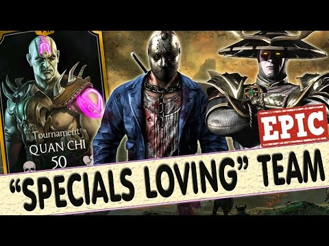 Mortal Kombat X Mobile. AWESOME TOURNAMENT QUAN CHI TEAM! They Love Special Attacks!