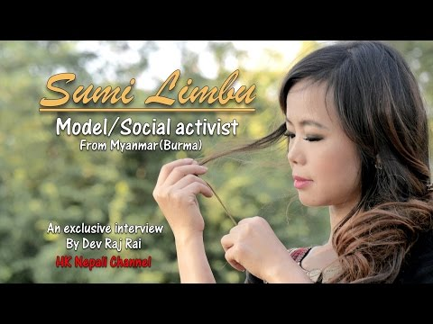 Nepali Actress Model from Burma