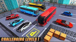3D modern Bus drawing painting 3D simulator Game Android GamePlay screenshot 3