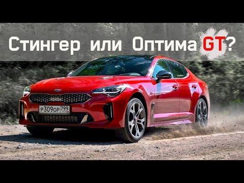 КИА Стингер ВАЛИТ круче Субару! Но, Вы Купите Оптиму / Тест Kia Stinger GT против Optima GT