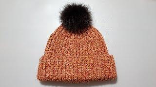 #61 Crochet beanie - 골지 비니 모자