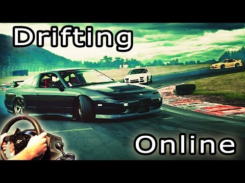 Assetto Corsa - Online Drifting @ Yokohama, Playseat review, track + car Mods. multiplayer t500rs