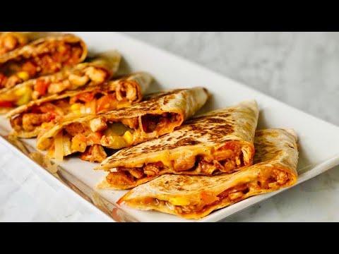 🌮-quesadillas-mexicaines-au-poulet-🌮-recette-très-facile-et-rapide.-deli-cuisine