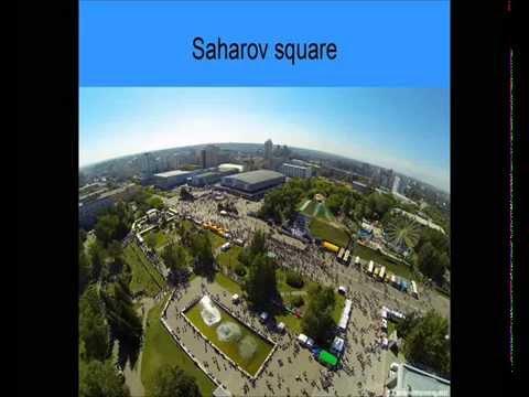 Traveling Across Sakharov Square