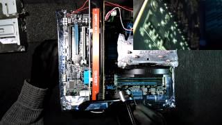 Разгон процессора и видеокарты. AMD FX 8350. AMD 7970. Улучшаем охлаждение. Простые методы.