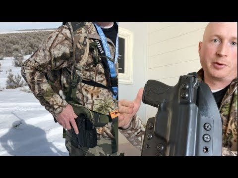 Hunt Ready Holster OWB Hybrid Pro Series Review For Hunters
