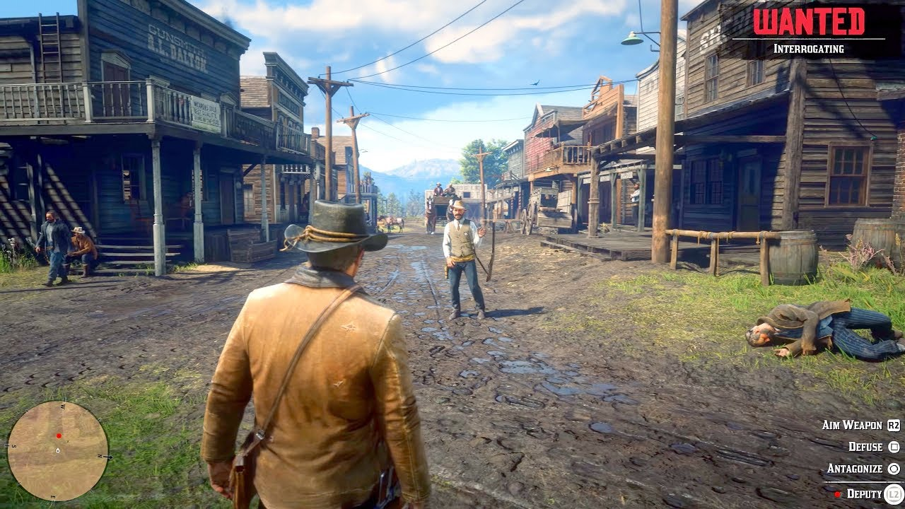 Red Dead Redemption 2 6 Minutes Of New Gameplay 4k 60fps