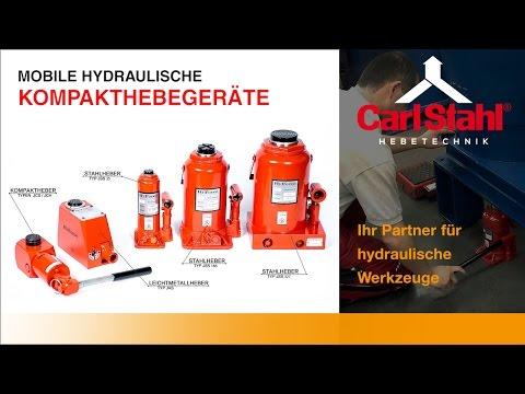 Mobile Hydraulische Kompakthebegeräte   Carl Stahl Hebetechnik