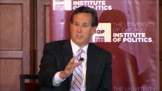 Rick Santorum Interview at Chicago Institute of Politics, Is Rick Santorum Intolerant