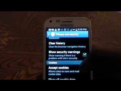 Clear cache and cookies on samsung galaxy s2 youtube clear cache and cookies on samsung galaxy s2 ccuart Choice Image