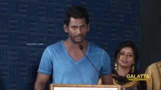 Vishal at Vellakkara Durai Press Meet | Galatta Tamil