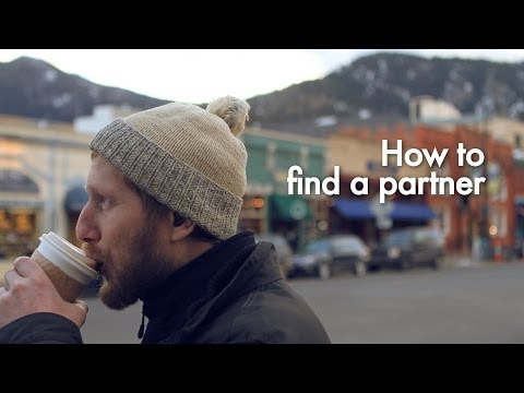 How to find a partner...