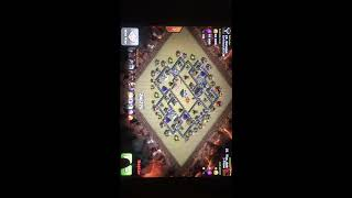 Clash of clans | How to beat popular deadzone war base TH9