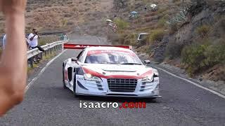 Luis Monzón con Audi R8 LMS  Subidas Fataga & San Bartolomé 2017