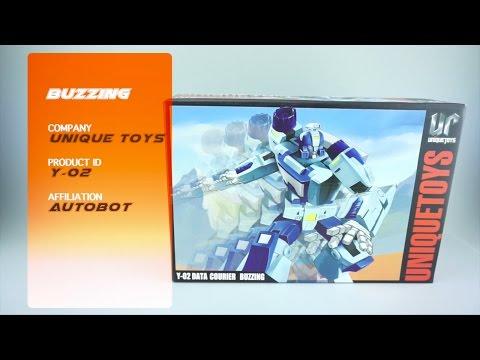 Transformers Review: Unique Toys Y-02 Buzzing. P4L Reviews