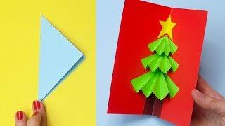 5 DIY christmas cards easy | Christmas cards DIY