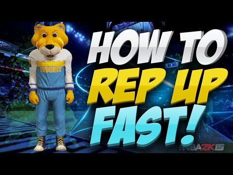 HOW TO REP UP FAST IN NBA 2K15 MY PARK (FAST + EASY)