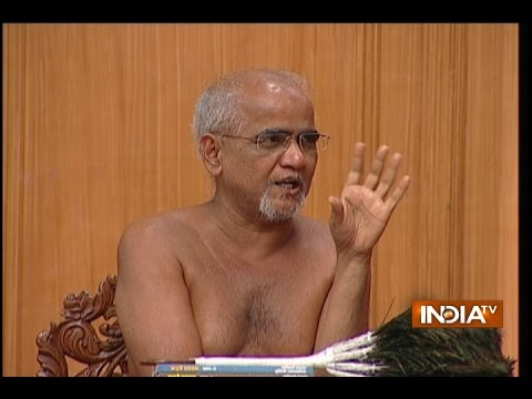 Jain Muni Tarun Sagar in Aap Ki Adalat With Rajat Sharma
