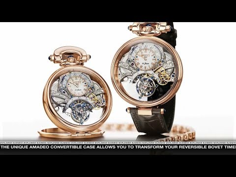Bovet 1822 featured on Worldwide Business with kathy ireland®