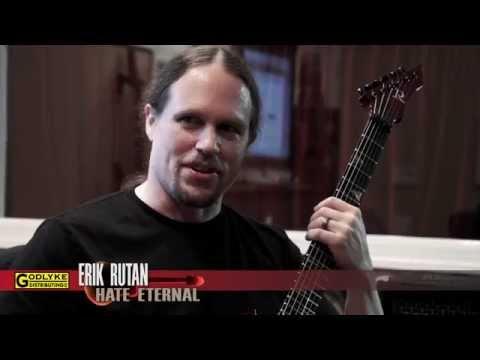 """Erik Rutan (Hate Eternal) shows us the Maxon he used on """"Infernus"""""""