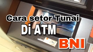 Download Cara setor tunai di ATM BNI Mp3 and Videos