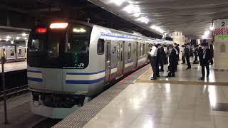 E217系クラY-7編成+クラY-117編成東京発車