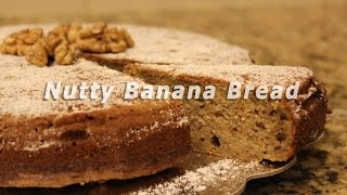 ❥ Quick And Easy Nutty Banana Bread Recipe