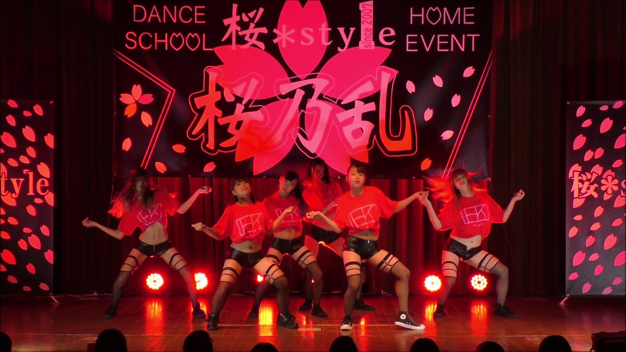 桜*style (Homy-K/GIRLS HIPHOP Atsushi Number@桜乃乱 ~第二十五戦~) 2019.10.6