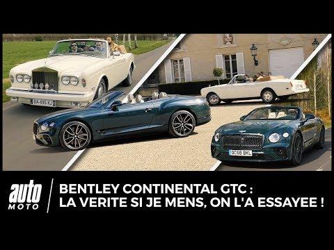 Essai Bentley Continental GTC : La vérité si je mens, nous l'avons essayée