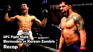UFC Fight Night Bermudez vs Korean Zombie Recap