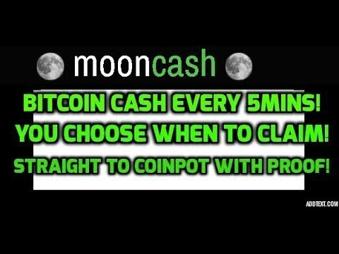 Moon Bitcoin Cash The Best Faucet From Moonfaucets!!!!