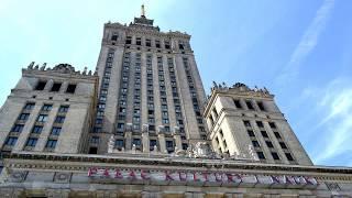 видео Дворец Культуры и Науки в Варшаве