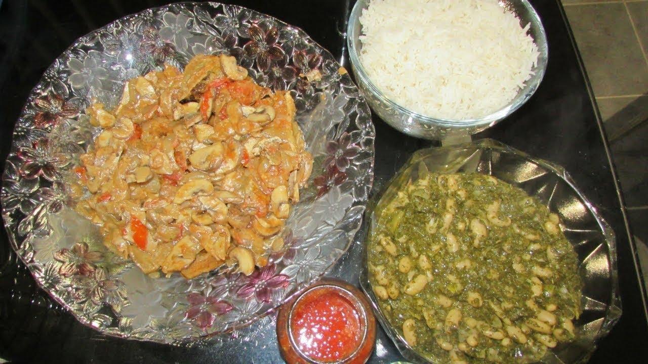 congolese food pondu cassava leaves madesu amp makayabu